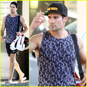 James Maslow Says Even His Hair Is Tired After A Full Day Of Rehearsals For Sherlock Holmes