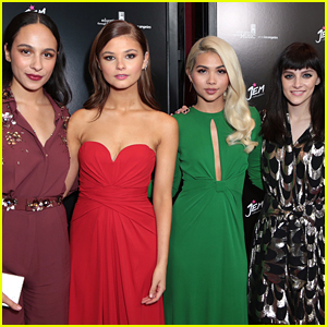 'Jem & The Holograms' Cast Hosts 'Truly Outrageous' Screening in Hollywood - See The Pics!