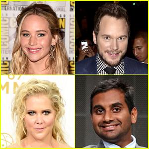 Jennifer Lawrence Films Funny Video for Chris Pratt's Instagram