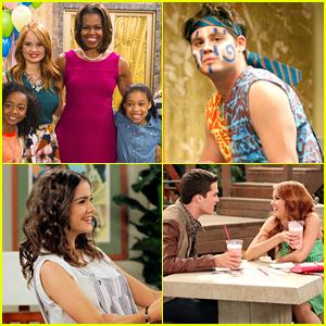 'Jessie' Guest Star Gallery: See Pics Of Stefanie Scott, Maia Mitchell, Michelle Obama & More