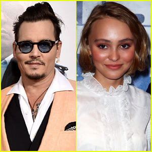 Lily Rose Depp's Dad Johnny Depp Is 'Worried' About Her Modeling Career