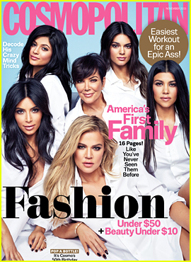 Kendall & Kylie Jenner Cover 'Cosmopolitan' with Kardashian Sisters!