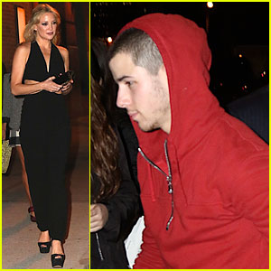 Nick Jonas Hits the Club with Rumored Girlfriend Kate Hudson!