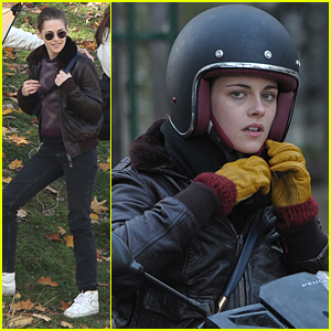 Kristen Stewart Picked Up Riding A Motorbike Quickly, Says Coach Phillipe Monneret