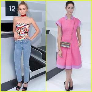 Lily Rose Depp & Kaya Scodelario Take Paris Fashion Week by Storm!