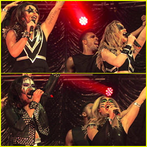 Little Mix Cast 'Black Magic' Spell Over KISS FM's Haunted House Party - See Their Performance Pics!
