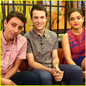 Ryan Lee, Odeya Rush & Dylan Minnette Bring 'Goosebumps' To Miami