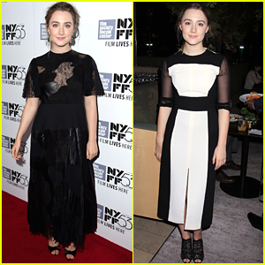 Saoirse Ronan Celebrates 'Brooklyn' Premiere Two Nights In A Row