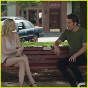 Stefan & Caroline Have Super Awkward Encounter in New 'Vampire Diaries' Clip - Watch Now!