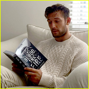 Watch Alex Pettyfer Reading from New Book 'Blood, Ink, & Fire' (Exclusive)