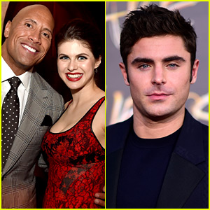 Alexandra Daddario to Star in 'Baywatch' Movie Opposite Zac Efron!