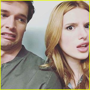 Bella Thorne Wraps 'Midnight Sun' & Shares Silly Selfie with Patrick Schwarzenegger