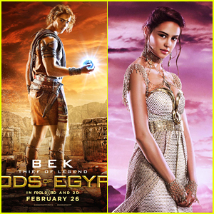 More 'Gods of Egypt' Posters Hit The Web - See Brenton Thwaites As Bek!
