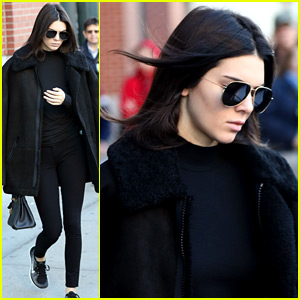 Kendall Jenner Steps Out Before the Victoria's Secret Fashion Show!