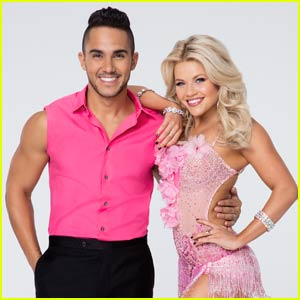 Carlos PenaVega & Witney Carson Perform Three Routines on 'DWTS' - Watch Now!