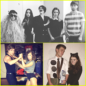 'Reign' & 'Liv & Maddie' Casts Totally Owned Halloween 2015 - See All The Celeb Costumes Here!