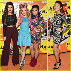 Daniela Nieves & 'Make It Pop' Cast Step Out In Style At Nickelodeon's HALO Awards 2015
