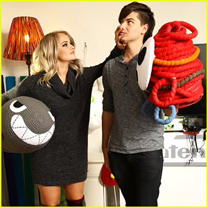 Debby Ryan Hosts Yoshi's Woolly World Get Together At Her Home