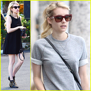 Emma Roberts Gets Her Shop On After People's Choice Awards Nomination Announcement