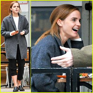 Emma Watson Shared a Super Cute 'Beauty' Halloween Pic