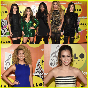 Fifth Harmony Join Tori Kelly & Megan Nicole At Nickelodeon's 2015 Halo Awards