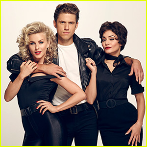 Vanessa Hudgens & Julianne Hough Star in First 'Grease: Live' Photos!