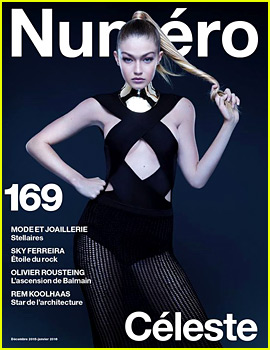 Gigi Hadid Is a Balmain Babe for 'Numero' Cover!