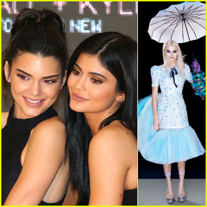 Kendall Jenner Channels 'Alice in Wonderland' for 'Vogue' Magazine