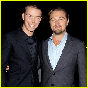Will Poulter Screens 'The Revenant' with Co-star Leonardo DiCaprio!