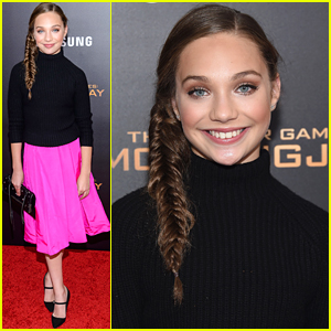 Maddie Ziegler Hits Up 'Mockingjay Part 2' Premiere in NYC