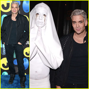 Mark Salling Sure Looked Familiar to Us at the Just Jared Halloween Party!