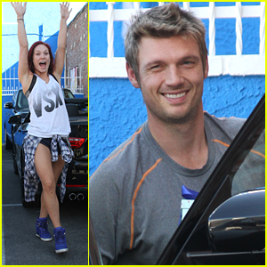 Nick Carter & Sharna Burgess Meet Even MORE Sharnick Fans at the DWTS Studio