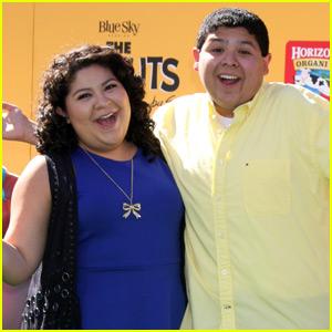 Raini & Rico Rodriguez Pair Up for 'The Peanuts Movie' Premiere