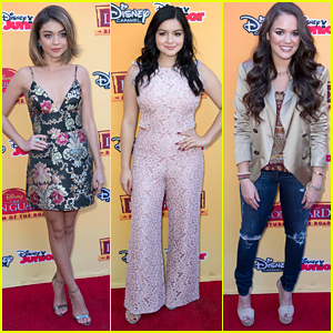 Ariel Winter Supports Sarah Hyland & Madison Pettis At 'Lion Guard: Return Of the Roar' Premiere