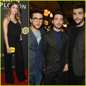 Sofia Reyes & Il Volo Celebrate HBO's Documentary 'The Latin Explosion'