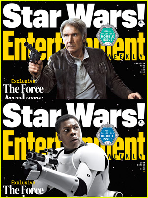 John Boyega Becomes a Stormtrooper for EW's Special 'Star Wars' Covers