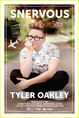 Tyler Oakley's Documentary 'Snervous' Gets Poster & Trailer - Watch Here!