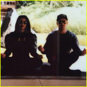 Zac Efron & Sami Miro Go Meditating in Japan
