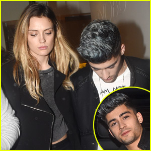 Zayn Malik Grabs Dinner With Actress Wallis Day