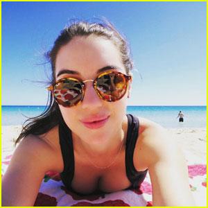 Adelaide Kane Shares Fun Beach Bikini Pics From Christmas in Australia