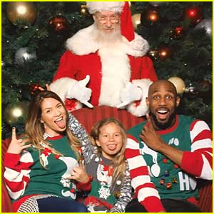 Allison Holker & Stephen 'tWitch' Boss Totally Won Christmas By Making Their Own Ugly Sweaters