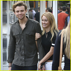 5SOS' Ashton Irwin Holds Hands With Bryana Holly at The Grove
