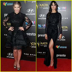 Bindi Irwin & Courtney Eaton Keep It Chic For AACTA Awards 2015 in Sydney