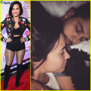 Demi Lovato Shares Snuggly Bed Photo With Wilmer Valderrama