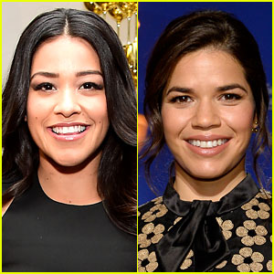 Gina Rodriguez Brushes Off the Golden Globes' America Ferrera Mix-Up