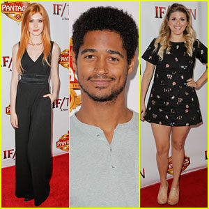 Katherine McNamara & Molly Tarlov Catch the Opening Night of 'If/Then'