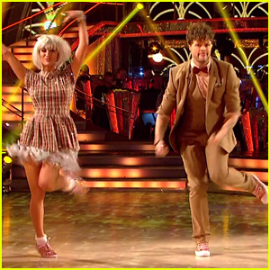 Jay McGuiness Becomes Doctor Who For 'Strictly Come Dancing' Semi-Finals - Watch Now!