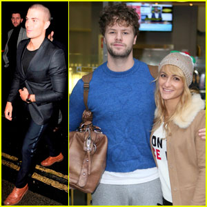Jay McGuiness Gets 'Dancing' Support From Former Wanted Bandmates Max George & Tom Parker!