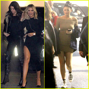 Kylie Jenner Gives Kendall & Cara Delevingne Piggyback Rides at The Weeknd Concert