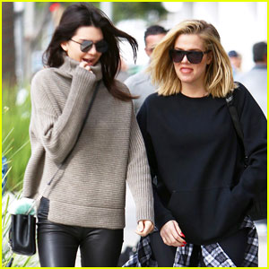 Kendall Jenner Grabs Some Beverly Hills Breakfast With Sister Khloe Kardashian